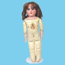 Armand Marseille Floradora Doll On Kestner Kid Leather Toddler Body