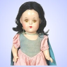 Madame Alexander 1930's Composition Snow White Doll