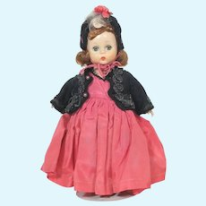 Madam Alexander 1955 Little Godey Lady #491 SLW Walker Alexander Kins