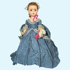 Madame Alexander hard plastic Maggie Queen Victoria Doll # 2030C from 1954