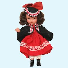 Bisque Nancy Ann Storybook Doll NASB # 123 One Two Button My Shoe