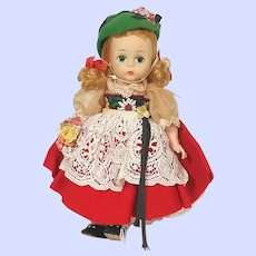 Madame Alexander International Wendy Face Alexander Kins Swiss Doll