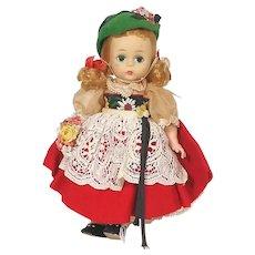 Madame Alexander International Wendy Face Alexander Kins Swiss Doll