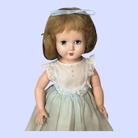 Effanbee Strung (Non-Walker) Hard Plastic Honey Doll From Early 1950's