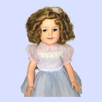 Ideal Shirley Temple ST-17 Doll With Flirty Eyes From 50's
