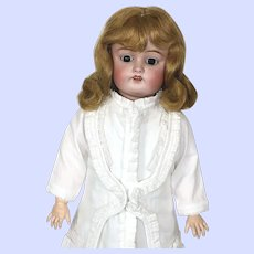 Antique Bisque Kestner 168 Doll With Molded Teeth