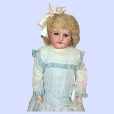 Armand Marseille Fur Eyebrow Floradora Bisque Head Doll