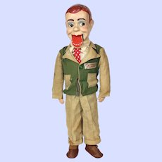 Walter Winchell Jerry Mahoney Ventriloquist Dummy Doll