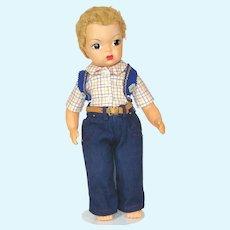 Vintage 1950's Jerri Lee Cowboy Doll