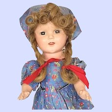 Ideal Composition Sally Pigtails Doll