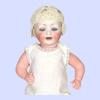 Antique Bisque Hertel Schwab 151 Toddler Doll
