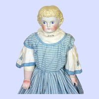 Alt Beck Gottschalck (ABG) China Head Doll