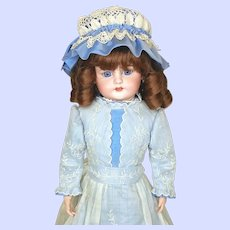 Antique Simon Halbig Character Faced 719 Bisque Head Doll