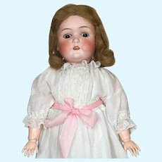 Antique American Made James Scholly Taft Bisque Head Doll