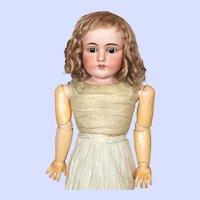 Antique Kestner 154 Bisque Head Large Doll