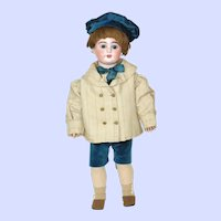 Armand Marseille #1984 Bisque Head Boy Doll