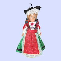 European Folk Costume Mollye Composition Doll
