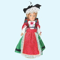 European Folk Costume Mollye Composition Doll