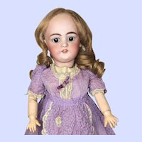 Eitenne Denamur Character Doll With Simon & Halbig 1079 Bisque Head
