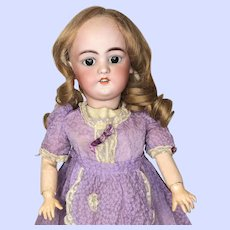 Eitenne Denamur Character Doll With Simon & Halbig 1079 Bisque Head