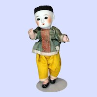 Japanese Oriental Bisque Doll by FECO