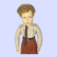 "Vintage Lenci 149 Series ""Aldo"" Boy Felt Doll"