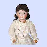 Antique Kestner 164 Character Face Bisque Head Doll