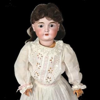 Antique Kestner 164 Character Face Bisque Head Doll