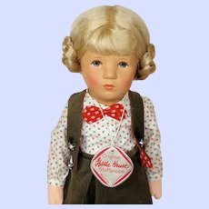 Kathe Kruse Stoffpuppe Vintage Doll Fanny
