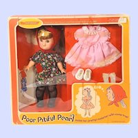 Horsman Vintage Poor Pitiful Pearl doll In Box