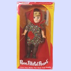 Horsman Poor Pitiful Pearl Vintage Doll With Box.