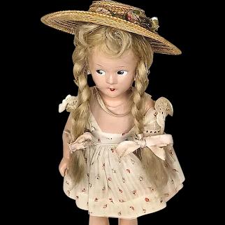 Madame Alexander 1930's Vintage Wendy Ann Doll