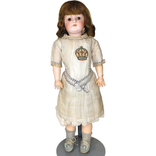 Antique Kestner 168 Bisque Doll With box and original clothes