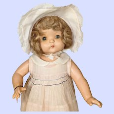 Vintage Effanbee Composition 1930's Patsy Ann Doll
