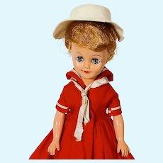 Vintage Vogue Jan Doll In Sailor Dress #3166