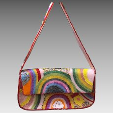 Vintage 80's Designer Comeco Beaded Purse