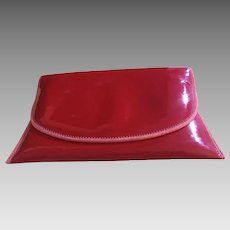 Unique Designer Red Clutch Purse - Pappagallo