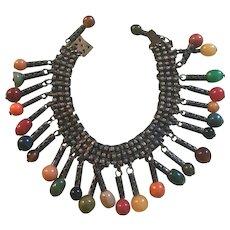 Rare Original- Handmade -Bakelite Charm Bracelet