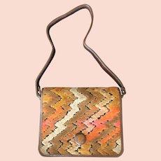 Rare Chevron Tapestry Purse