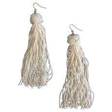 1980's Disco Swish Earrings