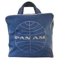 Authentic PanAm Airlines Carry-On Tote