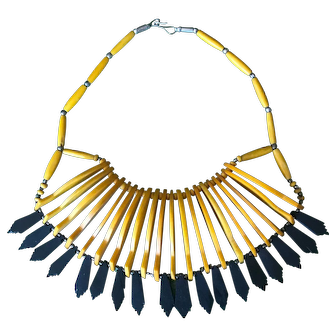 Rare One-of-a-Kind Bakelite Necklace