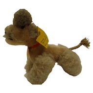 Steiff 10CM Poodle Puppy, all ID