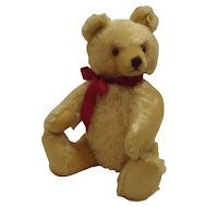 STEIFF Original 41 CM Honey Blond Teddy Bear (Masked) with ID and Working Growler