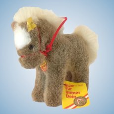 STEIFF Stompy Pony, 14 CM tall and all IDs and one more