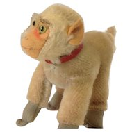 STEIFF Smallest COCO Baboon 10 CM tall with Red Collar