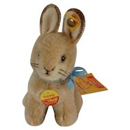 STEIFF Timmy Bunny with all IDs wants to HOP into your Life