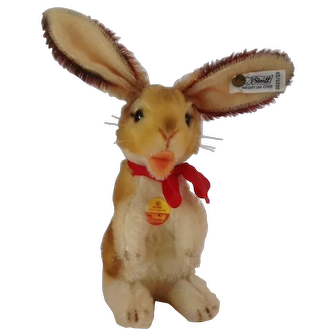 STEIFF Manni Bunny Rabbit with all IDs wants to HOP into your Life