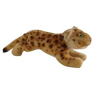 STEIFF Smallest Running Leopard with button