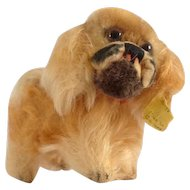 STEIFF Smallest Pekinese Peky Puppy with ID